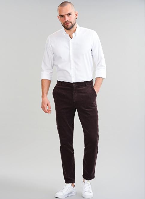 People By Fabrika Regular Fit Pantolon Kahve
